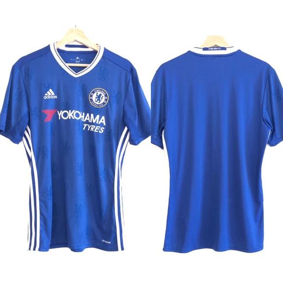 official photos 02d19 0583a Adidas Soccer Chelsea FC Home Shirt 2016 2017 Sz M